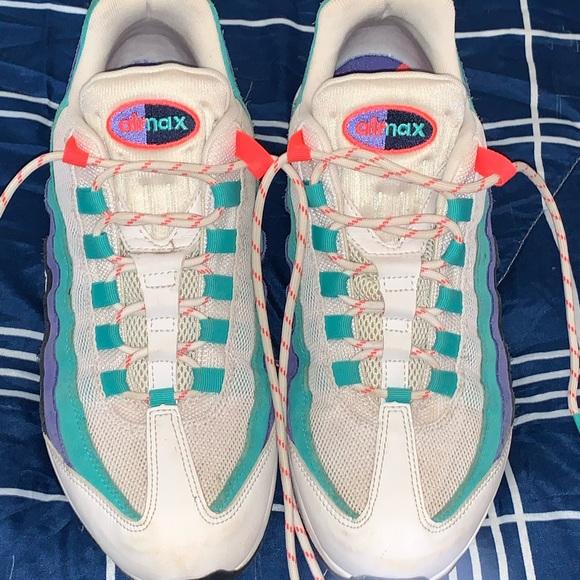 Nike Shoes | Nike Airmax 95 Hyper Jade | Poshmark